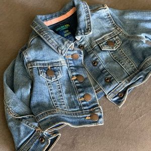 Other - Toddler cropped jean jacket